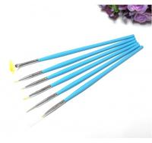 Wholesale Nail Art Brush/Acrylic Kolinsky Nylon Brush,Nail gel brush/ 6pcs Nail Brush Pen Set from china suppliers