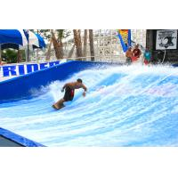 Wholesale Attraction Flowrider Water Ride , Waterproof Single Rider Wave Skid Board from china suppliers