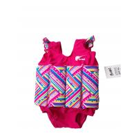 Wholesale Girls PINK Swim Training Floatsuit Swim Aid printed with stripes from china suppliers