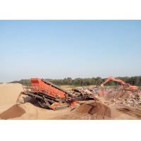 Quality Hydraulic Drive Full Featured Self - Drive Mobile Hammer Crusher Crawler - Type for sale