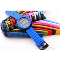 Wholesale Soft Plastic Kids Waterproof Swimming Watches With Big Case Diameter from china suppliers