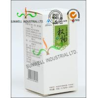Wholesale Metallic Lamination Medicine Packaging Box , Vials Bottle Cardboard Packing Boxes from china suppliers