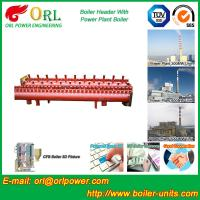 Wholesale Low Loss Boiler Header Manifolds / Boiler Steam Header Non Pollution from china suppliers