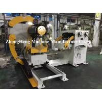 Buy cheap Manual Hydraulic Decoiler / Uncoiling Machine Without Coil Car 5.1 * 1.7 * 1.7m from wholesalers