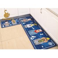 Wholesale Household Kitchen Floor Mats Washable , Decorative Kitchen Rugs Water Absorbing from china suppliers