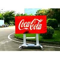 Wholesale Digital Outdoor Led Billboard Display Signs P4 For Business , 16 / 9 Gold Ratio from china suppliers