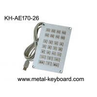 Wholesale Vandal resistant SS Industrial Entry Keypad , weatherproof keypad with 26 Keys from china suppliers