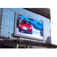 Wholesale P10 1R1G1B Outdoor Full Color LED Display screen for advertising , high Refresh rate from china suppliers