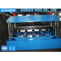 Wholesale High Precision Metal Deck Roll Forming Machine with PLC Control System from china suppliers