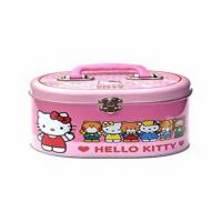 Wholesale Oval Small Gift Packaging  Rectangle Metal Lunch Tin Box With Backbag Belt And Lock from china suppliers