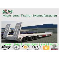 Wholesale Mechanical or air suspension flatbed semi trailer with 2 or 3 axlefor cargo transportation from china suppliers
