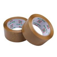 Wholesale Reinforced 35 - 65 Mic BOPP Packaging Tape , Strong Sticky Brown Packing Tape from china suppliers