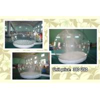 Wholesale Customize EN71 Inflatable Snow Globe with Snow Machine from china suppliers
