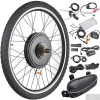 Wholesale 48V 1000W 26 Inch Rear Wheel Electric Bicycle  Motor Kit E-Bike Conversion from china suppliers