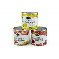 China Eco-friendly Custom Paper Composite Cans Waterproof Aritight for Food on sale