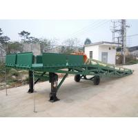 Buy cheap Q235B Three Side 10 Tons Mobile Dock Ramp For Container Loading from wholesalers