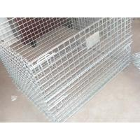 Wholesale Warehouse storage collapsible wire mesh containerwi from china suppliers