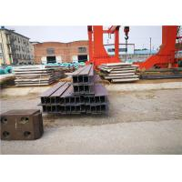 Wholesale ASTM A36 Hot Rolled Stainless Steel H Beam / Metal U Channels from china suppliers