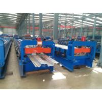 Wholesale Double 1.5  Inch Chains Steel Metal Decking Tile Sheet Roll Forming Making Machine from china suppliers