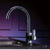 Wholesale Chrome Finish Single Handle Brass Kitchen Faucet, FC-1216-02 from china suppliers