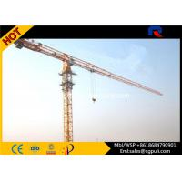 Wholesale Multi Color Hydraulic Truck Crane , Lifting Construction Equipment 6 Ton Max. Load from china suppliers