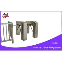 Wholesale 304 Stainless Steel Fingerprint Tripod Turnstile Bi-directional Access Control from china suppliers