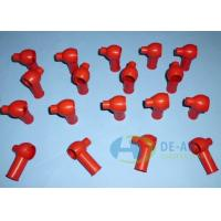 Wholesale Red / White Molding Silicone Rubber Plug for Automotive , Machinery from china suppliers