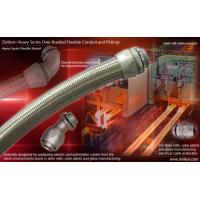 Buy cheap Delikon STEEL MILL electric cable Heavy Series Over Braided Flexible Conduit over braided conduit Fittings from wholesalers