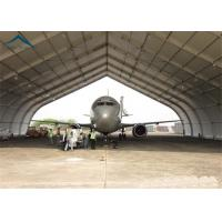 Wholesale Curved Aluminum  Aircraft Hanger 25m By 40m For Warehouse Wind - Resistant from china suppliers