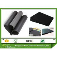 Wholesale 1mm / 1.5mm / 2mm / 3mm Thick Solid Black Paper Board For Painting Drawing Diary from china suppliers