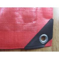 Wholesale 195gsm-215gsm pe virgin tarpaulin red color ,truck cover coal cover from china suppliers
