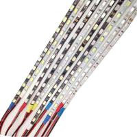 Wholesale 5MM 5730 LED Strip Light 90CM 60LEDs SMD IP65 Waterproof 12V Black White PCB from china suppliers
