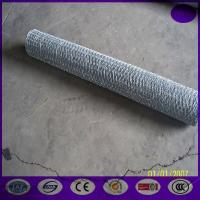 Wholesale 10M x 500mm 25mm Galvanised Chicken Rabbit Wire Mesh Garden Fence from china suppliers