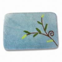 Wholesale Non-slip Bathroom Rug, Available in Various Designs, Measures 45 x 65cm from china suppliers