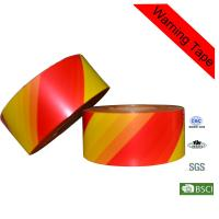 Wholesale Customized 500m Red and Orange PE Hazard Warning Tape for Crime Scene from china suppliers