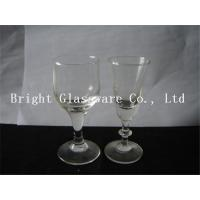 Wholesale hot sale clear wine glass Glass Goblets Glassware for wholesale from china suppliers