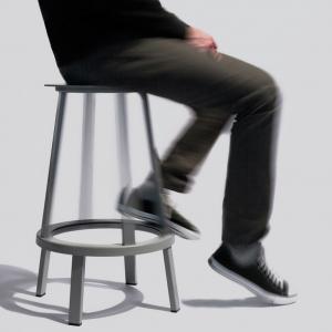 Revolver Bar Stool Modern Bar Chairs Black Home Furniture For Model Houses