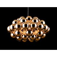 Wholesale Gold Innermost Beads Contemory Pendant Lighting Modern Gold Metal Suspension Lighting for Homes from china suppliers