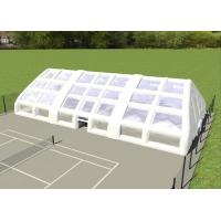 Wholesale Double Layer Strong Inflatable Lawn Tent Inflatable Camping Tent For Tennis Football Game from china suppliers