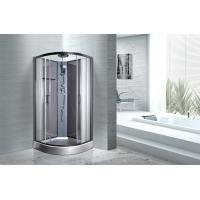Wholesale Convenient Comfort Bathroom Shower Cabins With 4MM Light Grey 663C Back Panel from china suppliers