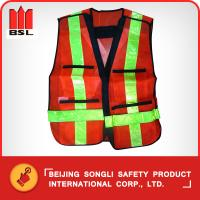 Wholesale SLJ-TSM10  REFLECTING VEST (SAFETY VEST) from china suppliers