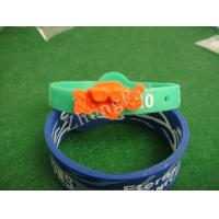 Wholesale Eco friendly promo products embossed and debossed customized silicone bracelets powerful rubber wristband from china suppliers