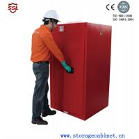 Wholesale Red Paint Ink Chemical Storage Cabinet For Flammable Liquids 60 Gallon from china suppliers