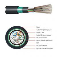 Wholesale Outdoor Direct Buried Fiber Optic Cable GYTY53 optical fiber 12 fiber G652D from china suppliers