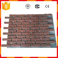 Wholesale High quality light weight antique faux brick panels for home decorations from china suppliers