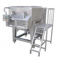 Wholesale 1500 Liter Dual - Shaft Electric Meat Mixer Machine With Pneumatic Discharge from china suppliers