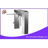 Wholesale Scenic Ticketing System Automatic Tripod Turnstile Gate with bar code reader from china suppliers
