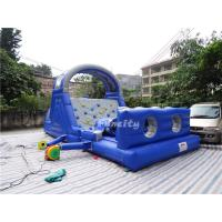 Wholesale Commercial Events Kids Bounce House , Inflatable Jumping Castle With Climbing Wall Games from china suppliers