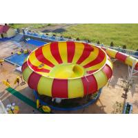 Wholesale Aqua Park Fiberglass Water Slides, 19m Height Waterpark Super Bowl For Water Park from china suppliers