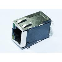 Wholesale HBJ-M4B01ANLF Surface Mount RJ45 Jack 1X1 Port Tab Up With 10/100M LPJ3011ABNL from china suppliers